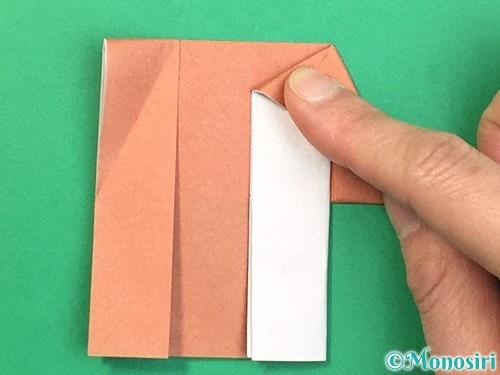 折り紙できのこの折り方手順18