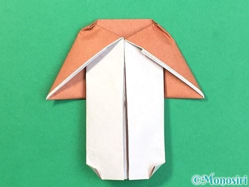 折り紙できのこの折り方手順22