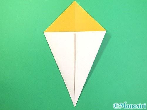 折り紙できのこの折り方手順4