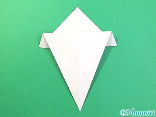 折り紙できのこの折り方手順9