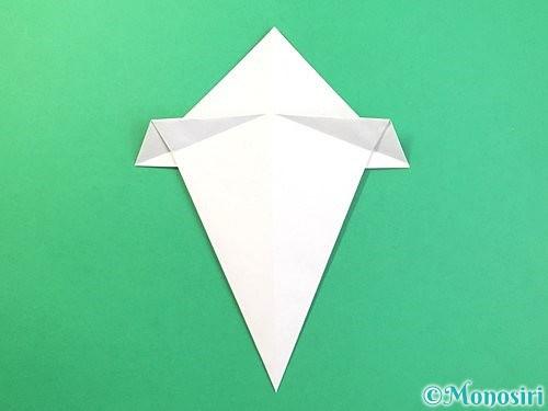 折り紙できのこの折り方手順11