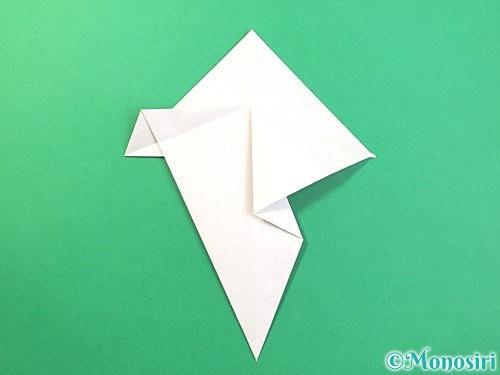 折り紙できのこの折り方手順15