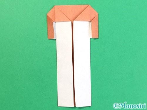 折り紙でまつたけの折り方手順15