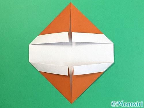 折り紙で栗の折り方手順10