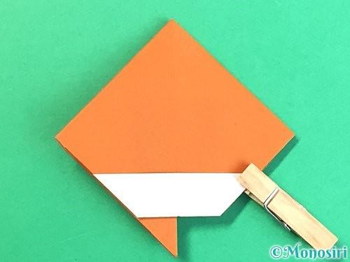 折り紙で栗の折り方手順23