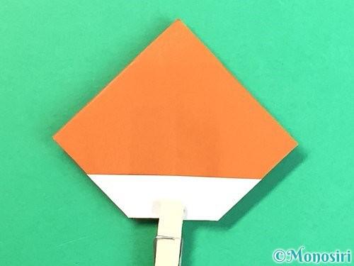 折り紙で栗の折り方手順24