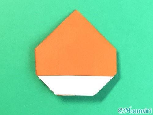 折り紙で栗の折り方手順26
