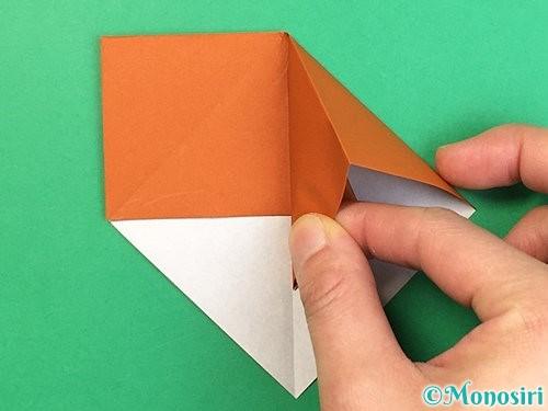 折り紙で栗の折り方手順11