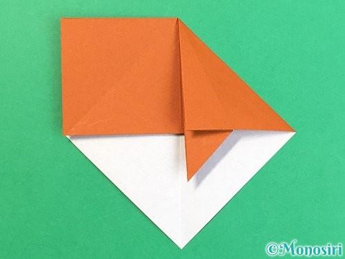 折り紙で栗の折り方手順15