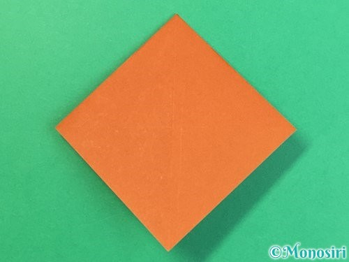 折り紙で栗の折り方手順19