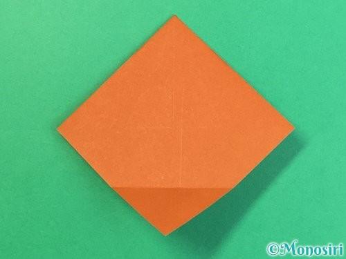 折り紙で栗の折り方手順21