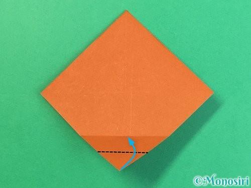 折り紙で栗の折り方手順22