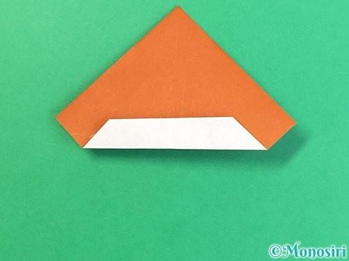 折り紙で栗の折り方手順27