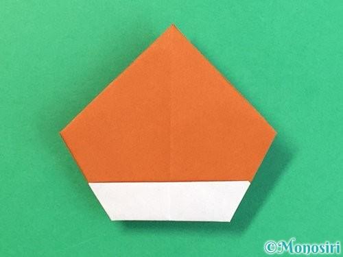 折り紙で栗の折り方手順29