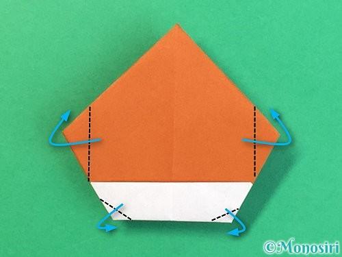 折り紙で栗の折り方手順30