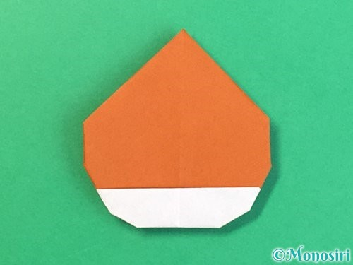 折り紙で栗の折り方手順31