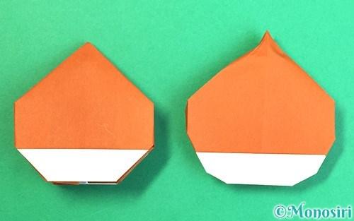 折り紙で折った栗
