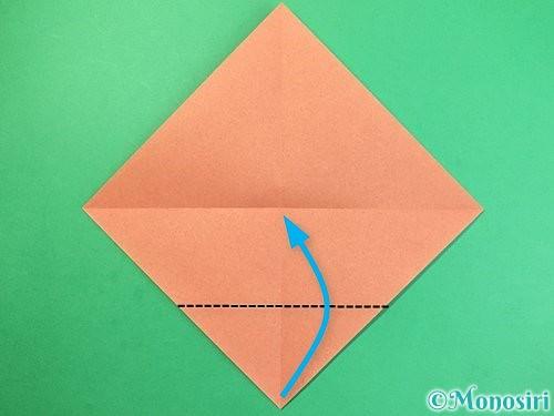 折り紙でどんぐりの折り方手順3