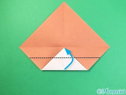 折り紙でどんぐりの折り方手順5