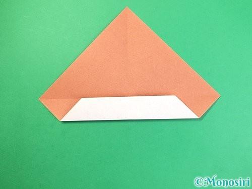 折り紙でどんぐりの折り方手順6