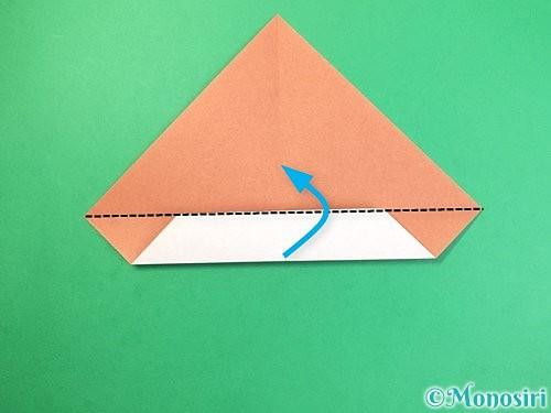 折り紙でどんぐりの折り方手順7