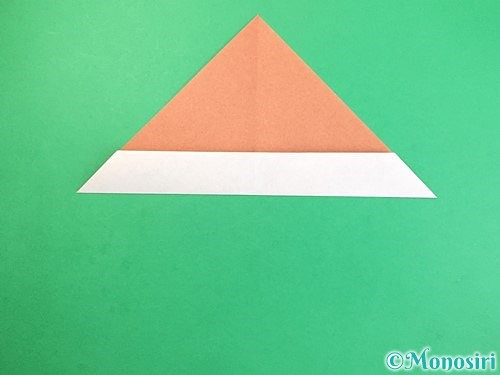 折り紙でどんぐりの折り方手順8