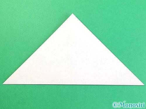折り紙でどんぐりの折り方手順9