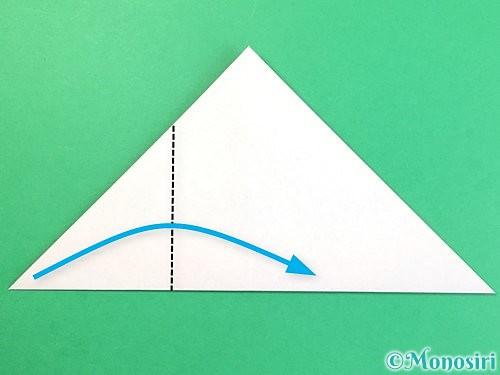 折り紙でどんぐりの折り方手順10