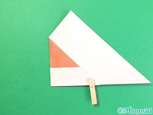折り紙でどんぐりの折り方手順11