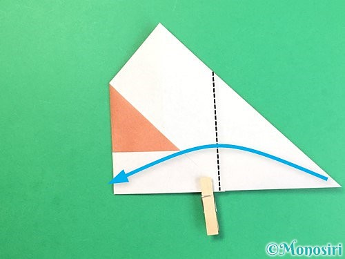 折り紙でどんぐりの折り方手順12