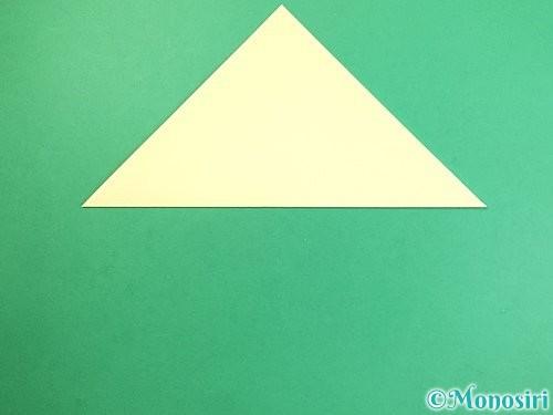 折り紙でお月見団子の折り方手順2