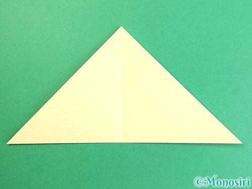 折り紙でお月見団子の折り方手順4