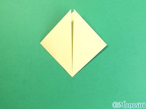 折り紙でお月見団子の折り方手順6