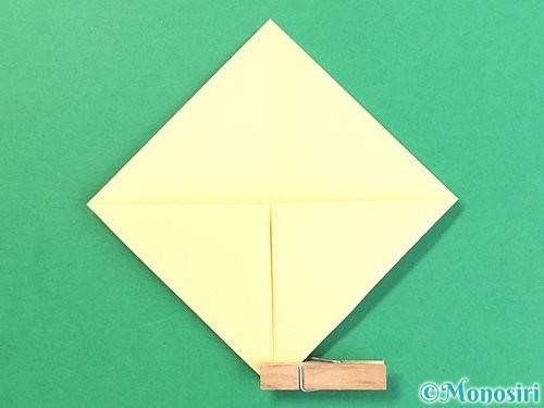 折り紙でお月見団子の折り方手順8