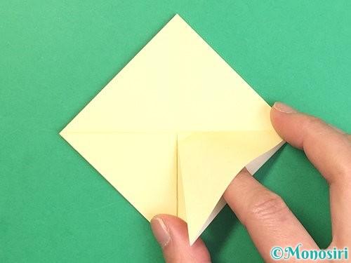 折り紙でお月見団子の折り方手順9