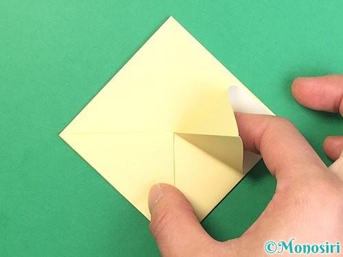 折り紙でお月見団子の折り方手順10