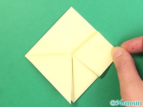 折り紙でお月見団子の折り方手順11