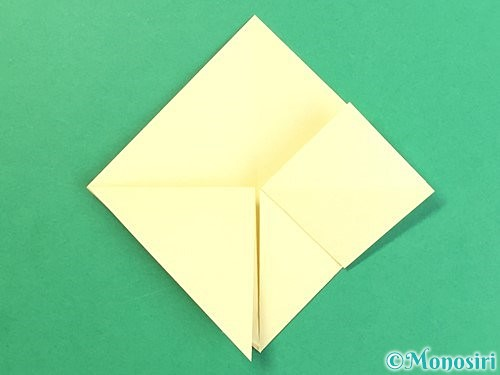 折り紙でお月見団子の折り方手順12