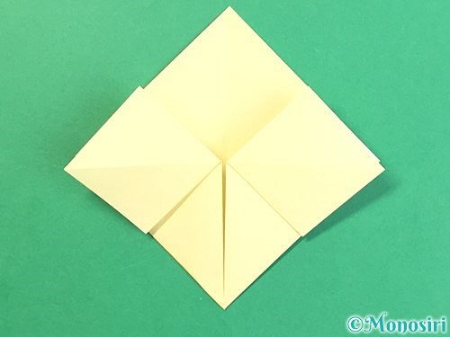 折り紙でお月見団子の折り方手順13
