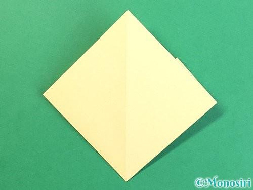 折り紙でお月見団子の折り方手順14