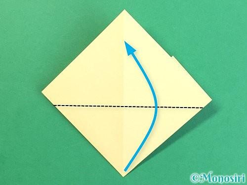 折り紙でお月見団子の折り方手順15