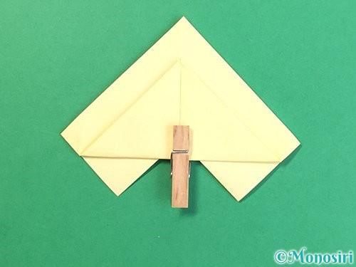 折り紙でお月見団子の折り方手順16