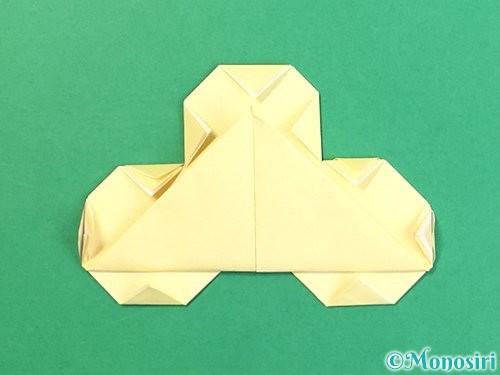 折り紙でお月見団子の折り方手順19