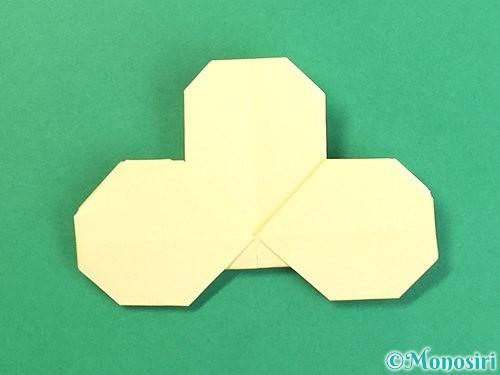 折り紙でお月見団子の折り方手順20