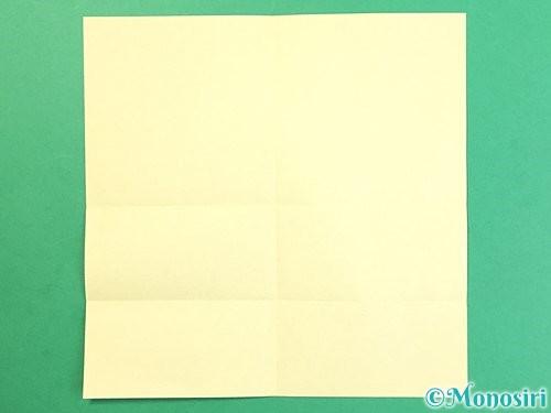 折り紙でお月見団子の折り方手順26