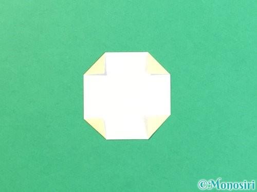 折り紙でお月見団子の折り方手順29