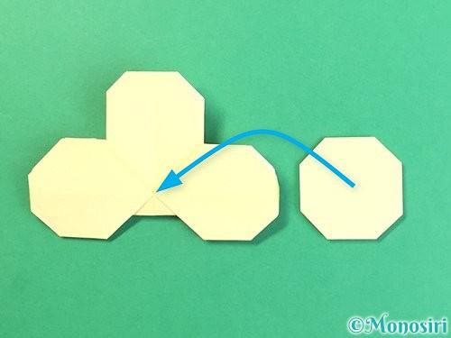 折り紙でお月見団子の折り方手順31