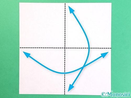 折り紙でお月見団子の折り方手順33