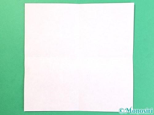 折り紙でお月見団子の折り方手順34