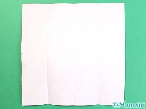 折り紙でお月見団子の折り方手順36